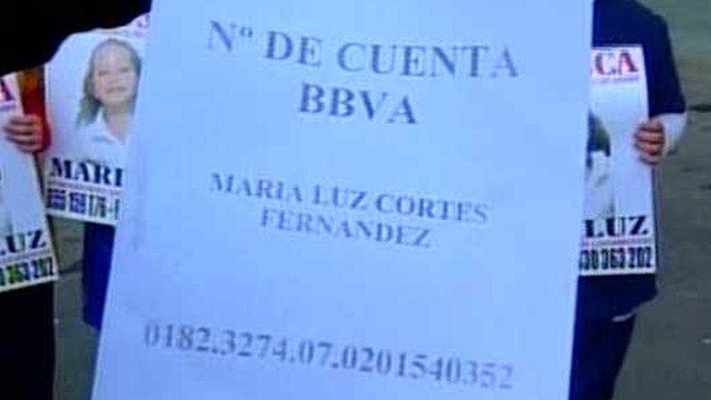 Nº de cuenta para ayudar en la búsqueda a Mari Luz