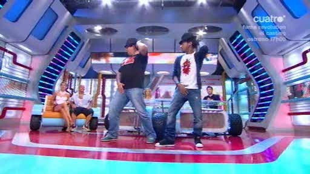 Leonardo Dantés y Michael Jackson: ¡Flo es un auténtico 'bailón'!