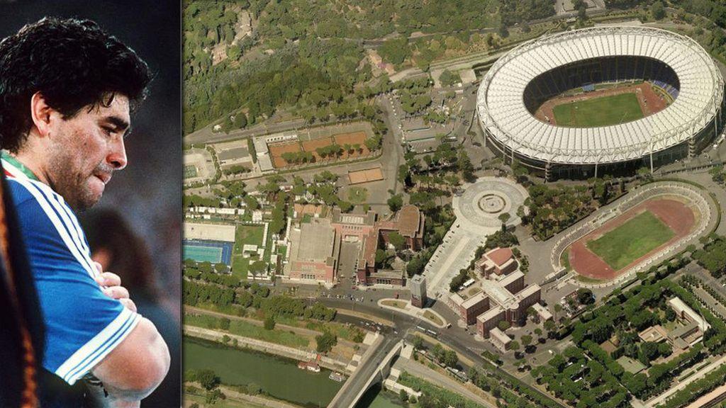 El Olímpico de Roma y el retorno del 'César'