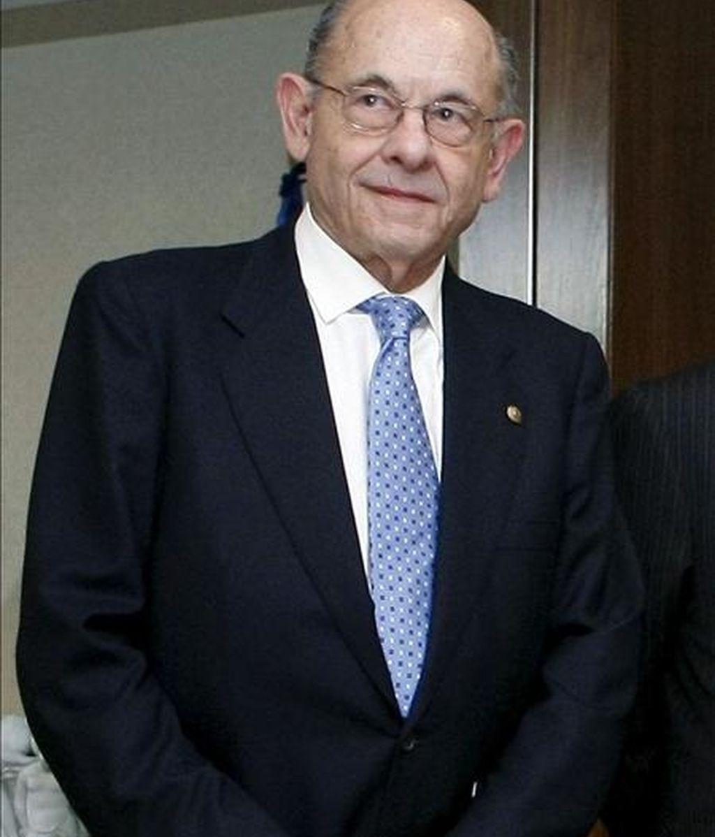 Fotografía de archivo del 12/05/09 del ex presidente del patronato de la Fundació Orfeó-Català Palau de la Música, Félix Millet. EFE/Archivo
