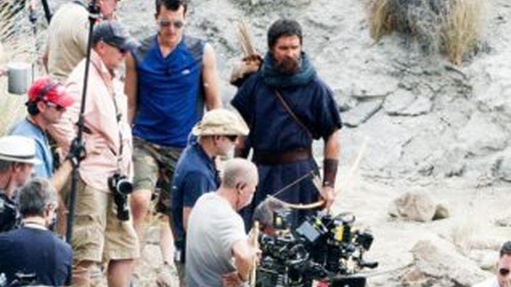 Trabajadores de la próxima película de Ridley Scott llegan a Fuerteventura