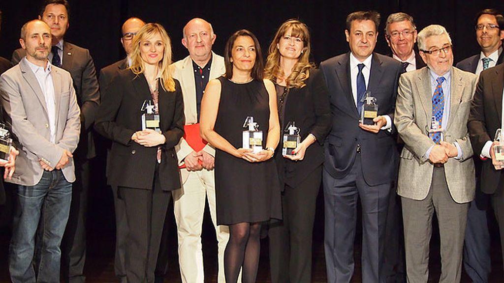 Los premiados celebraron sus premios ATR-Usuarios de Medios de Madrid