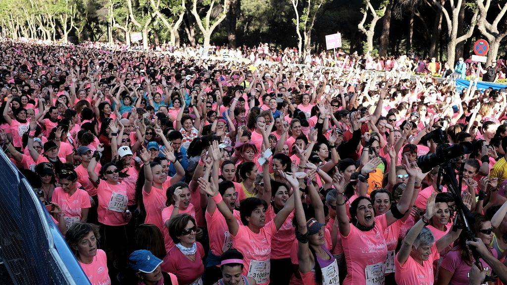 La 'Marea Rosa' contra el cáncer de mama