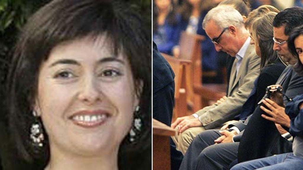 Rosario Porto Ortega y Alfonso Basterra, padres de la niña hallada muerta en Santiago