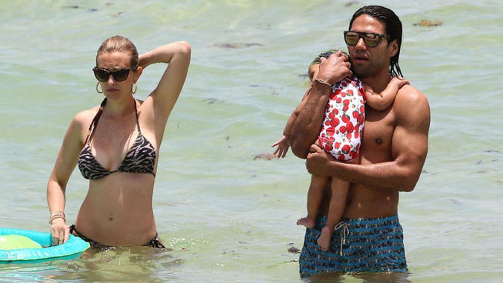 La feliz familia ha disfrutado de sus vacaciones en Miami