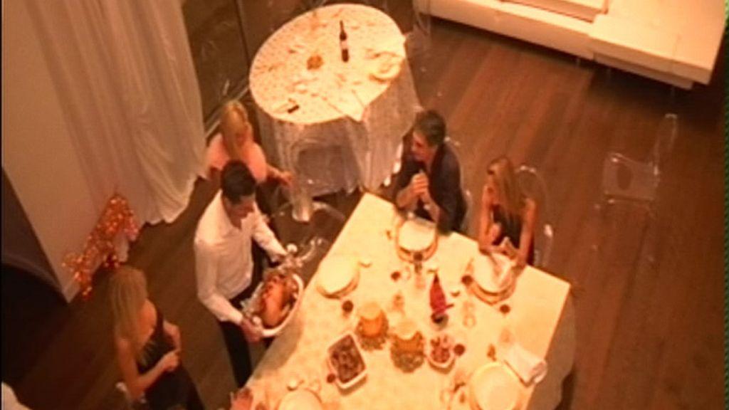 Una cena con glamour