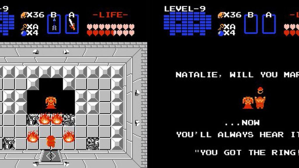 Zelda, propuesta, matrimonio, videojuegos
