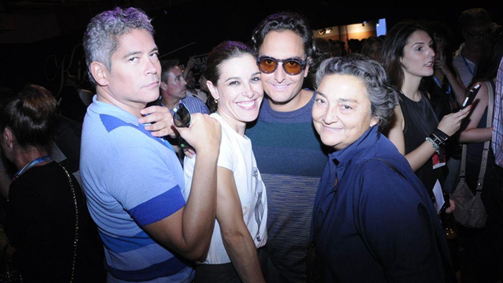 Boris Izaguirre, Raquel Sánchez Silva, Josie y Elena Benarroch