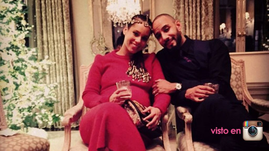 Alicia Keys embarazada