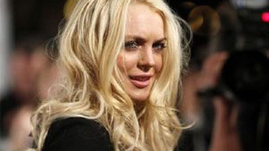 Lindsay Lohan en su última aparición en público. Foto: Reuters