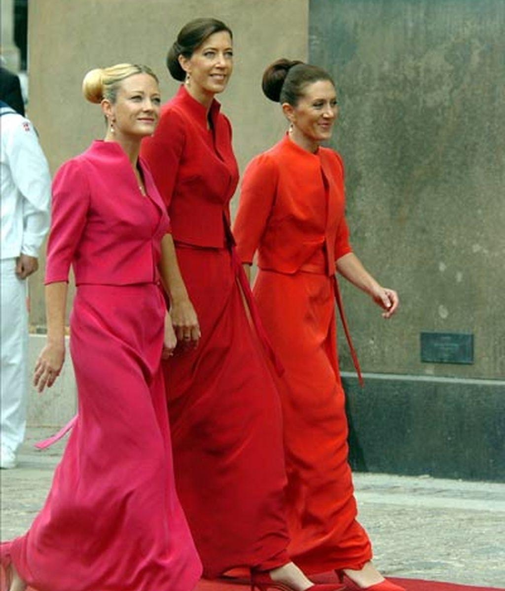 Las hermanas de la princesa Mery Donaldson