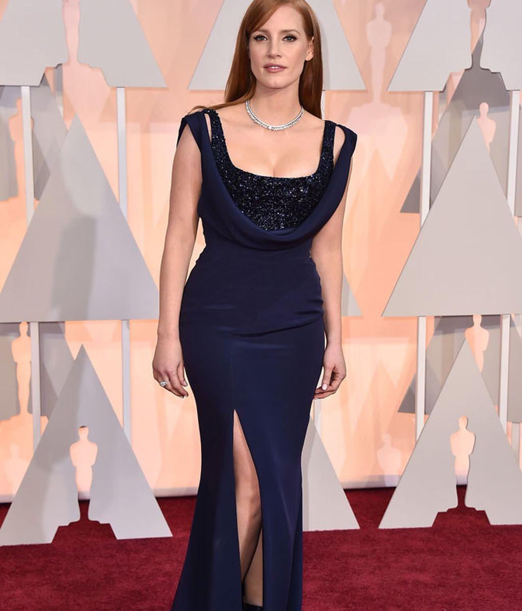 Jessica Chastain vestida de Givenchy