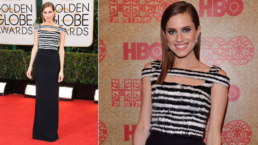 Allison Williams de Alexander McQueen