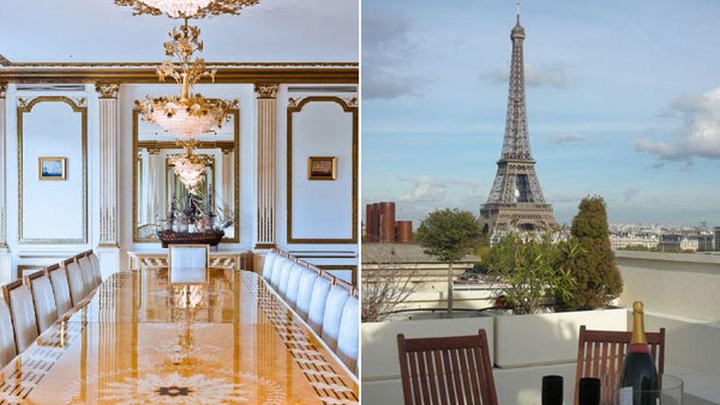 Ático con vistas en París (Francia)