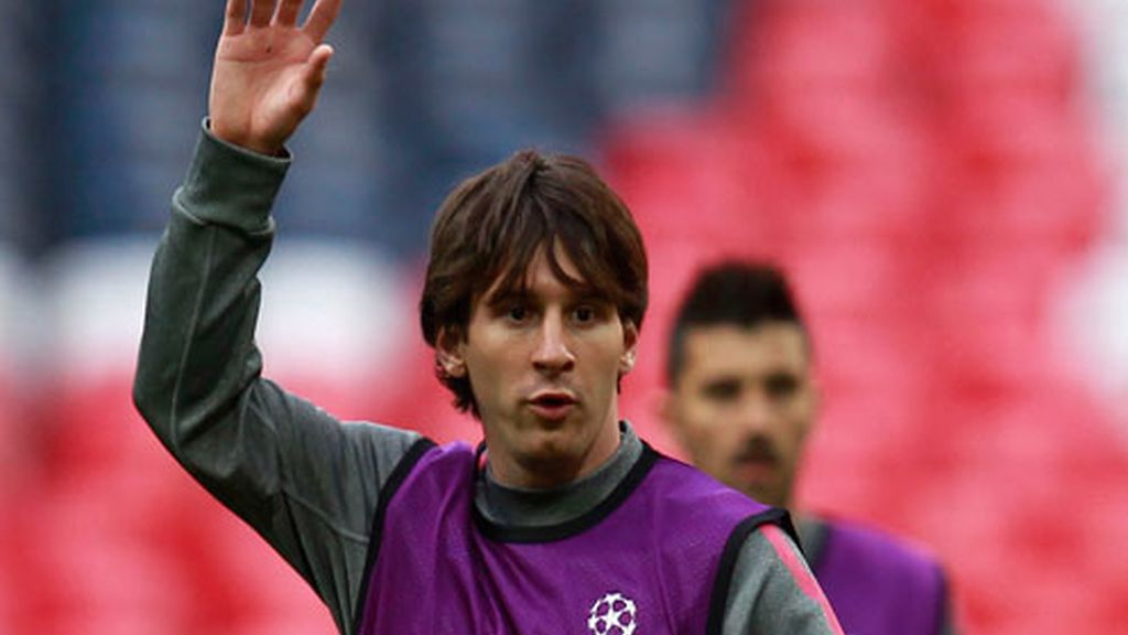 Messi pide balón