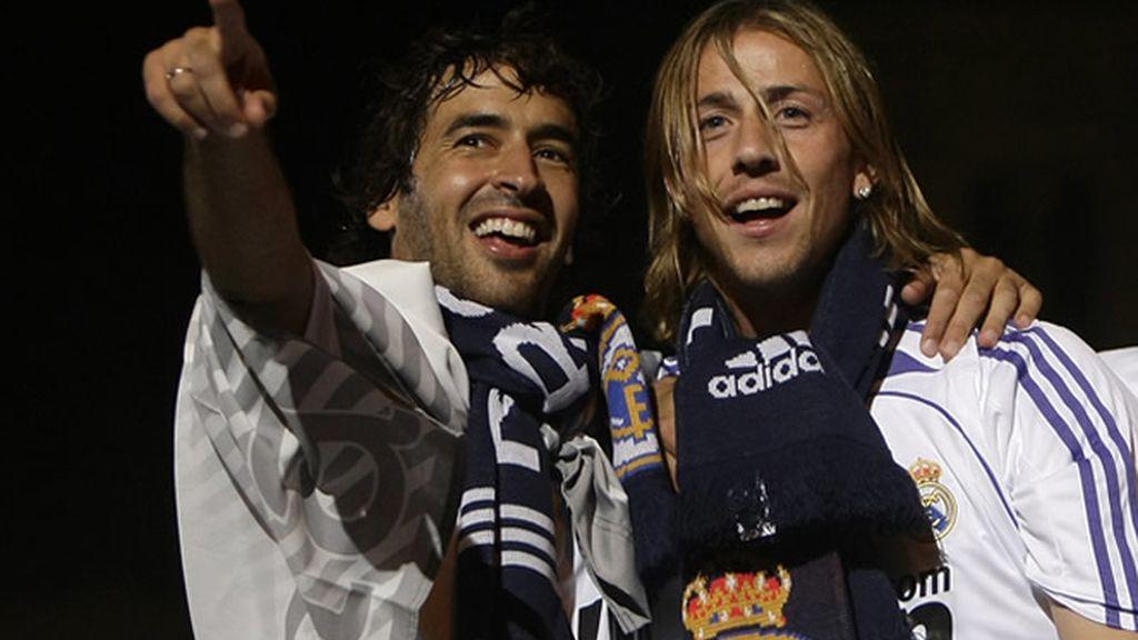 Raúl y Guti