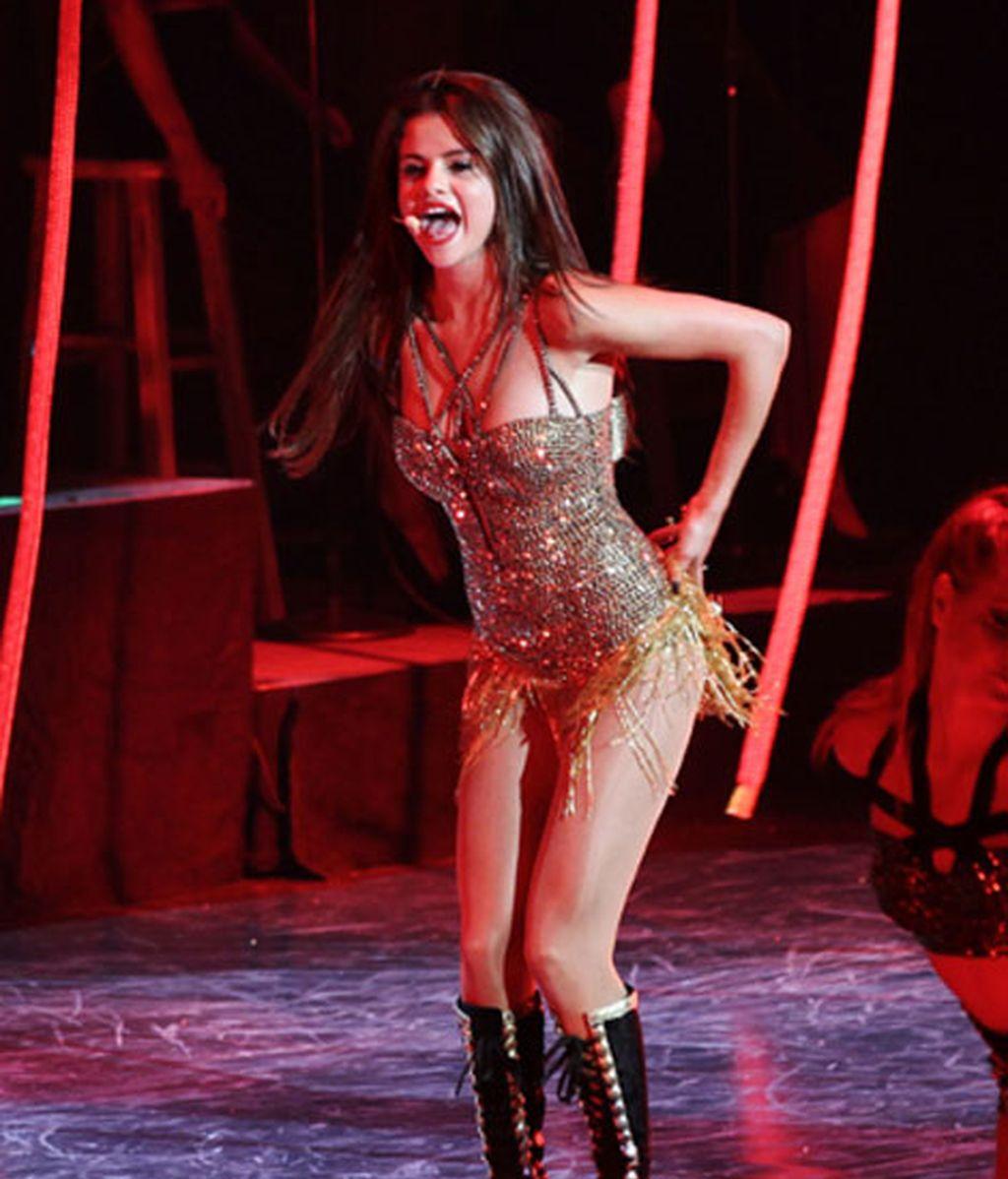 Selena Gómez arranca su gira más picante