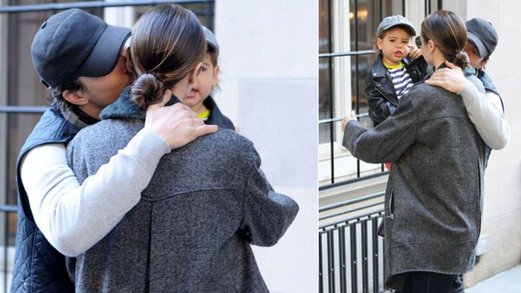 Orlando Bloom y Miranda Kerr, una familia feliz de paseo con Flynn