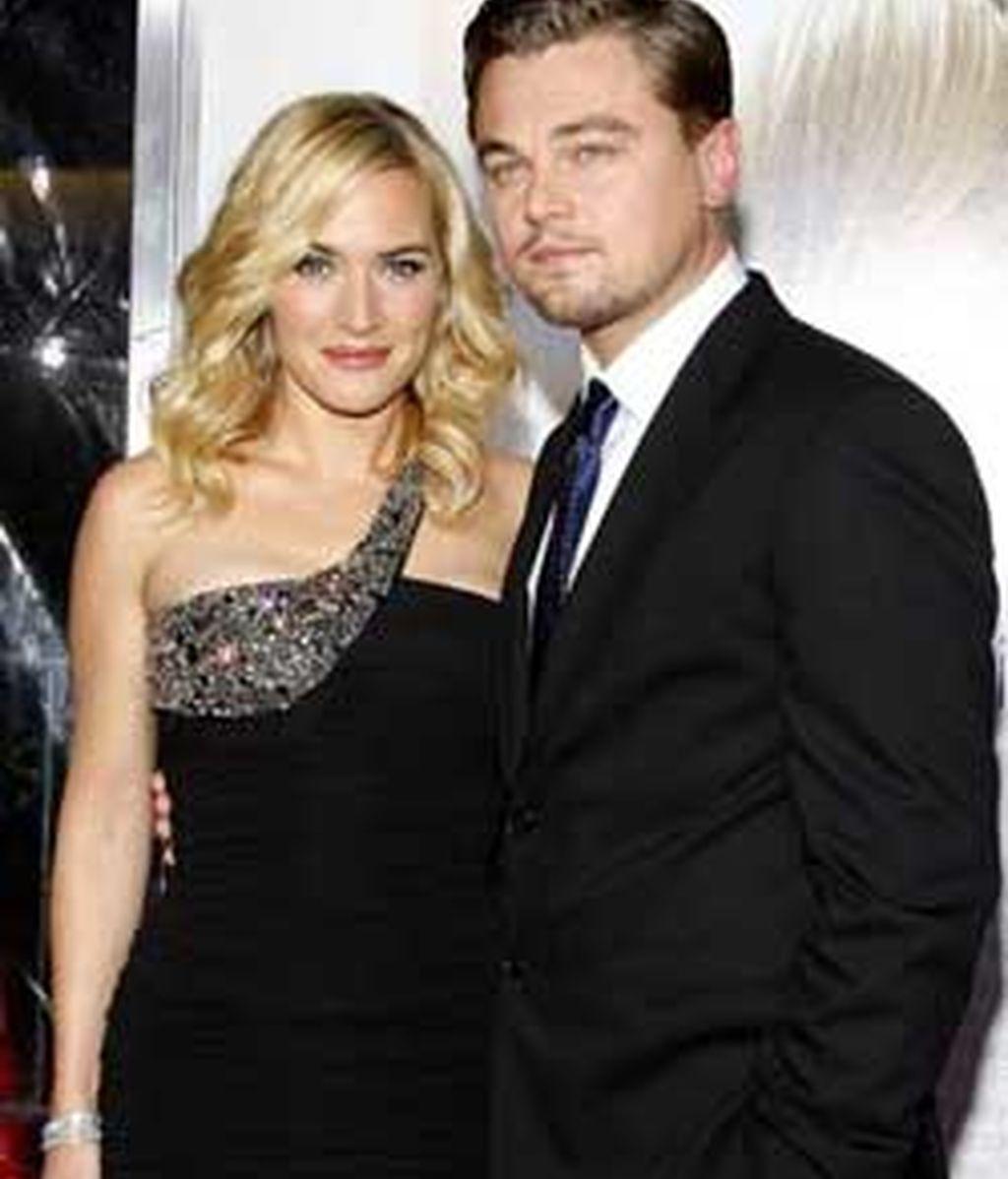 Leonardo y Kate conservan, muy amigos desde que se conocieron el el rodaje de'Titanic'