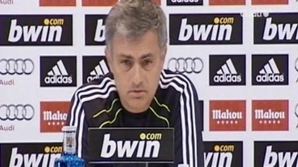 Mourinho se queja del calendario