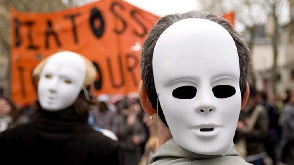 Protestas anti Bolonia en Francia