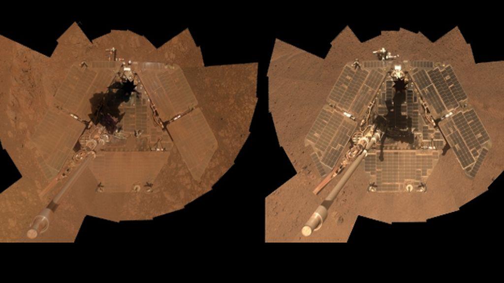 La moda de los 'selfies' llega a Marte
