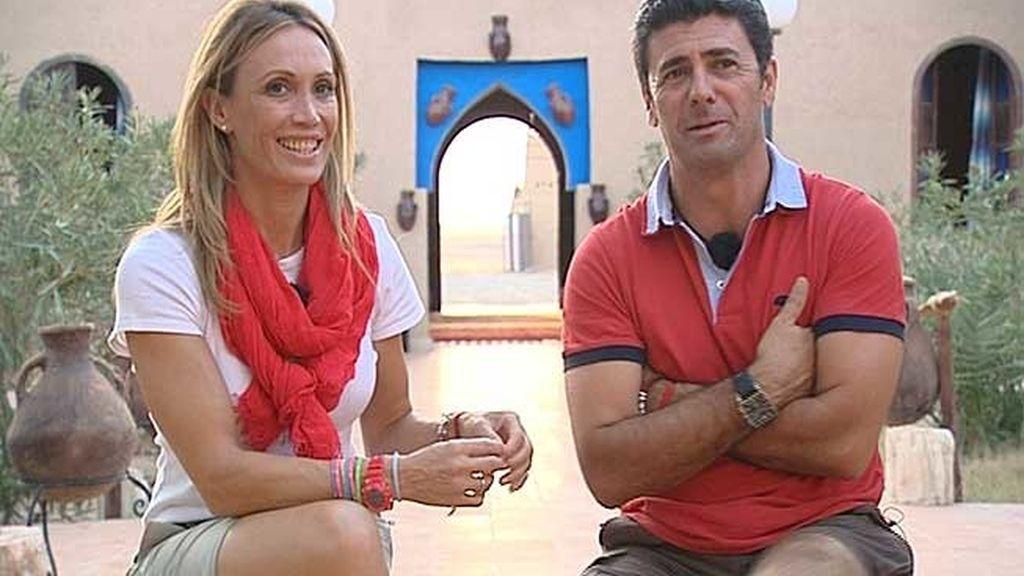 Cristina Sánchez y Alejandro da Silva
