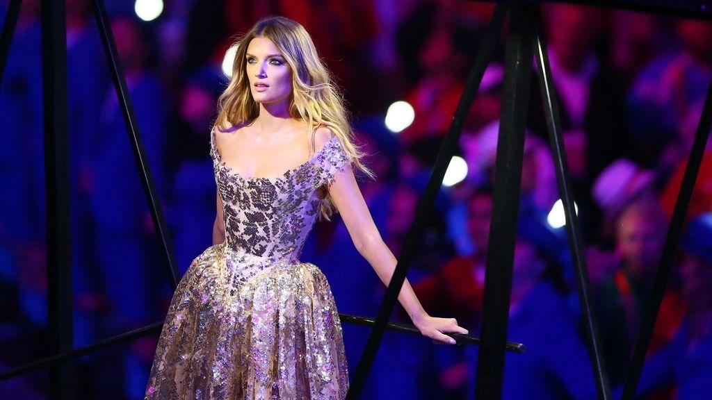 La modelo británica Lily Donaldson