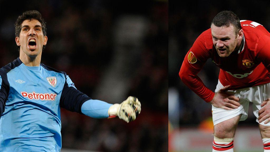 Gorka Iraizoz y Rooney