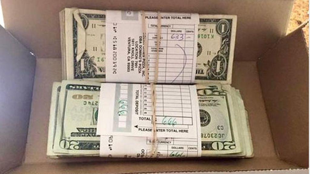 Berkeley,repartidor pizzas,caja de pizzas 1.300 dólares,Domino's pizza