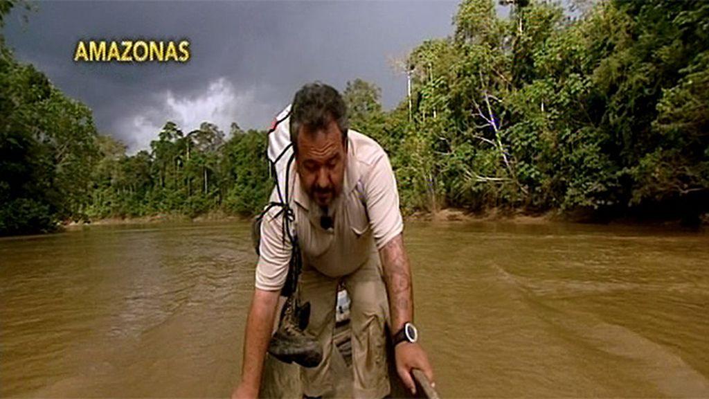 El largo viaje de Carlos terminó pasado por agua