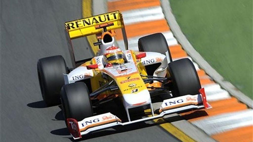 Alonso, décimo en los primeros libres