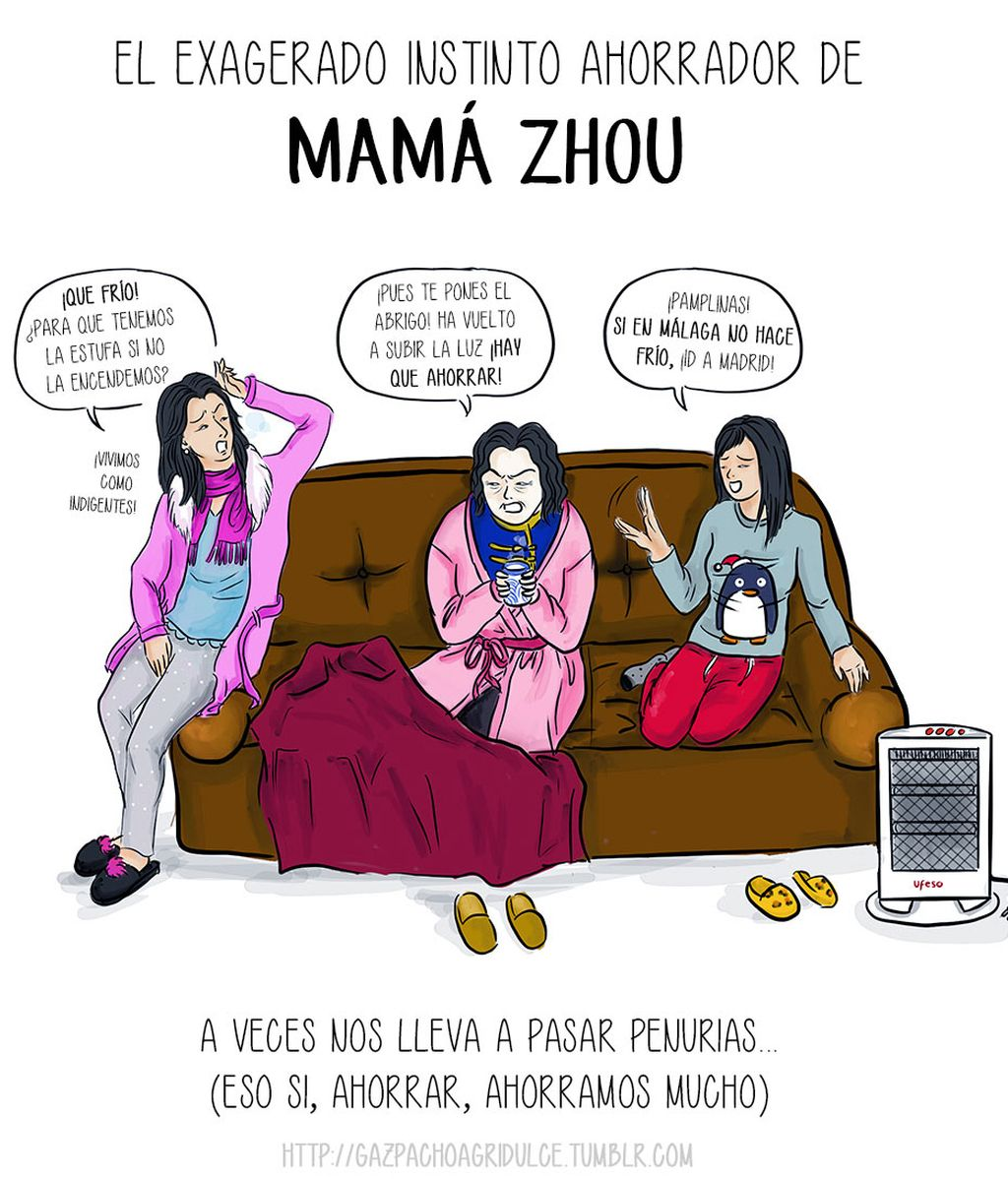 9. El exagerado instinto ahorrador de Mamá Zhou