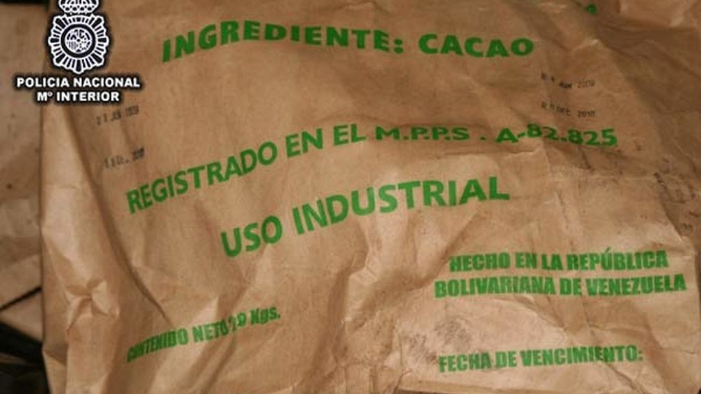En sacos de cacao