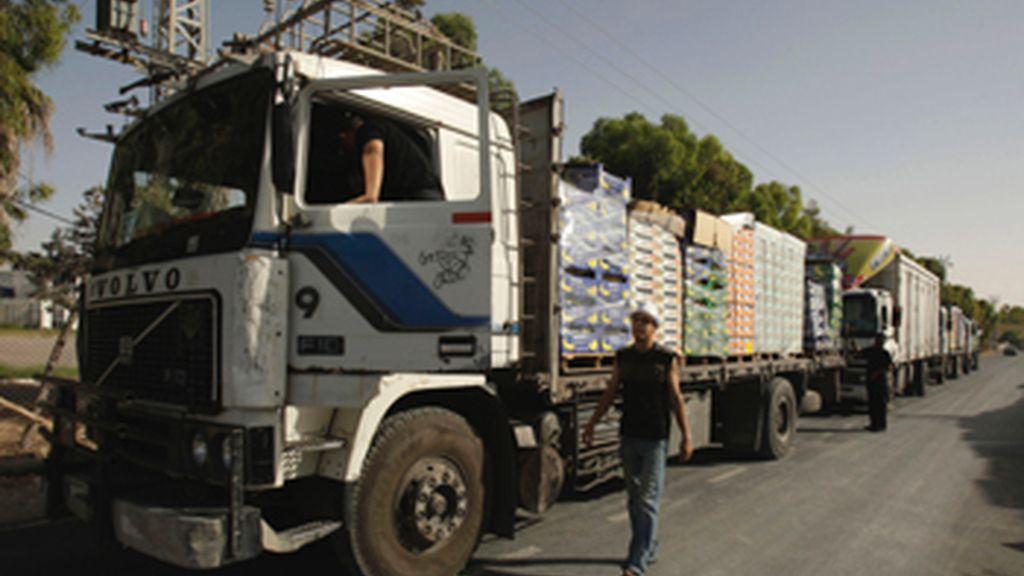 Protestas en Marruecos obligan a cortar el tráfico rodado en la frontera con Melilla