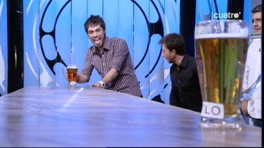 Dani Martínez es el campéon de cervezas