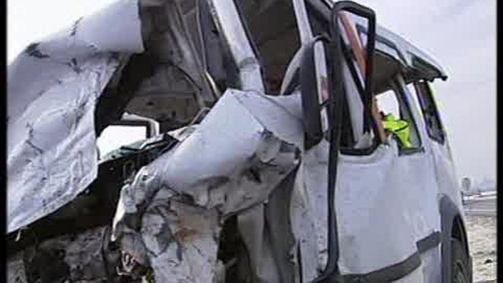 Cinco muertos en un accidente de tráfico en Murcia