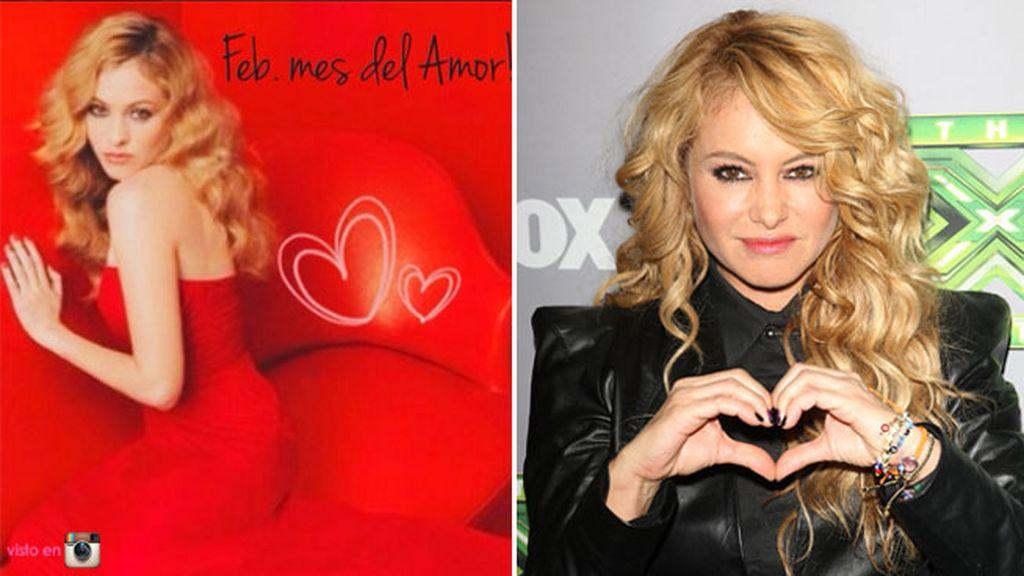 Paulina Rubio en el mes del amor