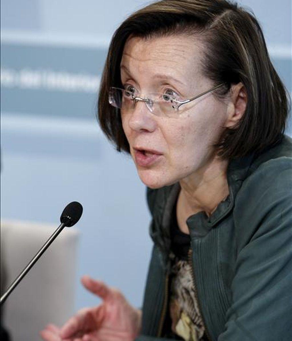 La consejera de Justicia de la Generalitat de Cataluña, Montserrat Tura. EFE/Archivo