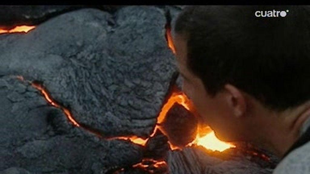 Monte Kilauea: ¿Cómo cruzar un río de lava?