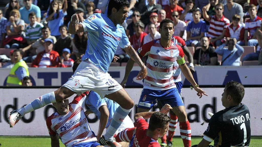 El Granada gana al Celta por 2 goles a 1. Foto: EFE.