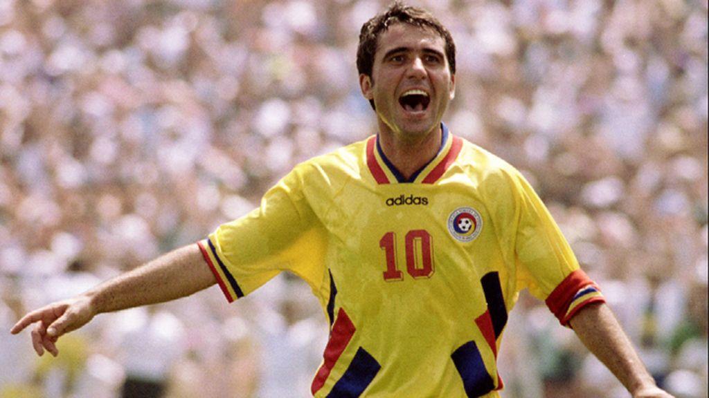 La mejor selección de Rumania hizo historia con Hagi