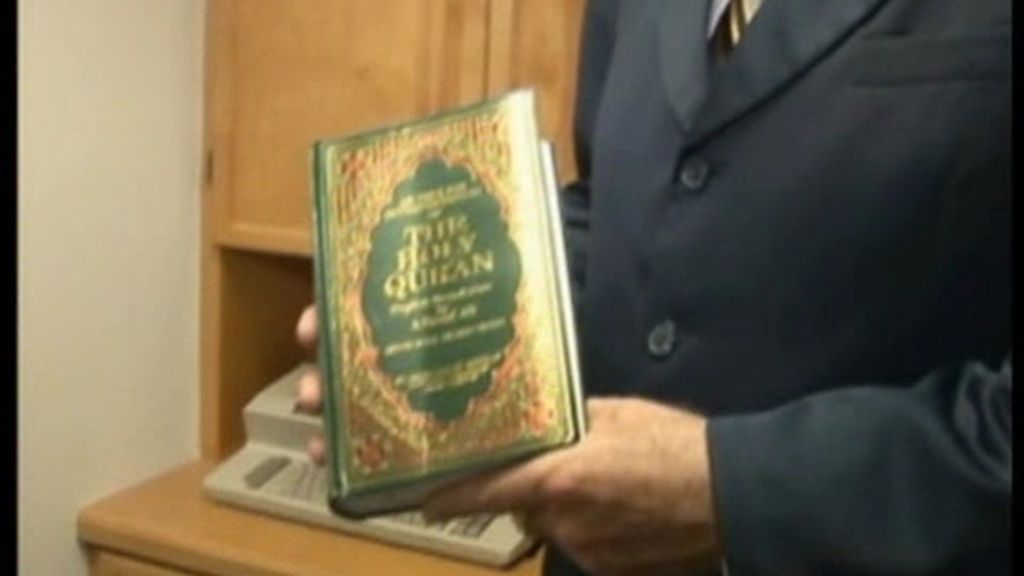 La quema del Corán