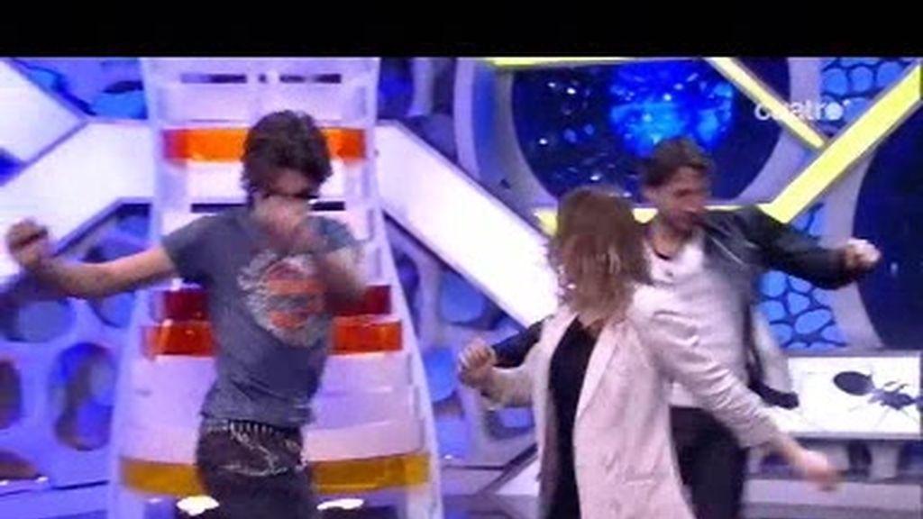 Albeto Amman y Marta Etura bailan, y son participes del Efecto Mariposa de Marron