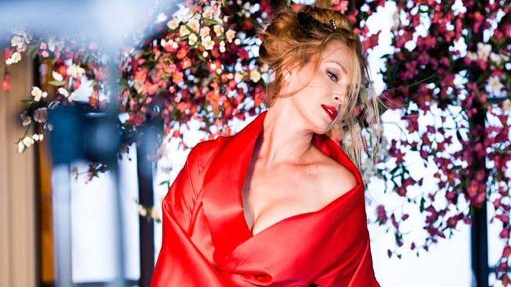 Uma Thurman, espectacular en el calendario Campari 2014