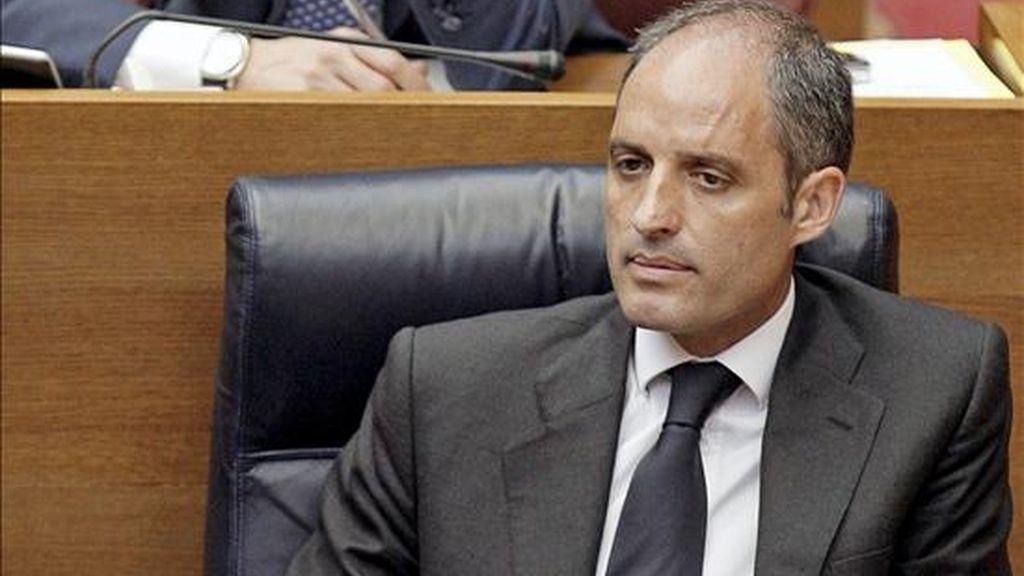 El presidente de la Generalitat Valenciano, Francisco Camps. EFE/Archivo