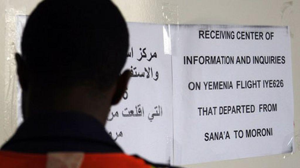 La tragedia tiñe de luto el aeropuerto del Yemen