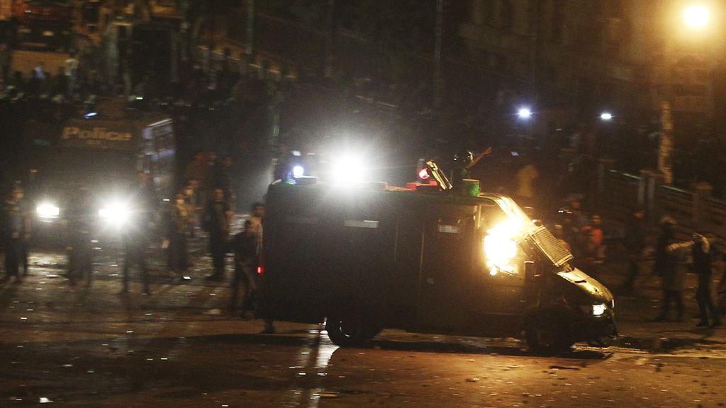 44 heridos durante los disturbios de este sábado en Egipto