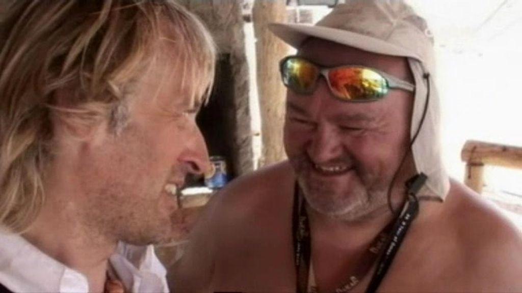 Las imágenes más divertidas del Dakar 2011, por Jesús Calleja