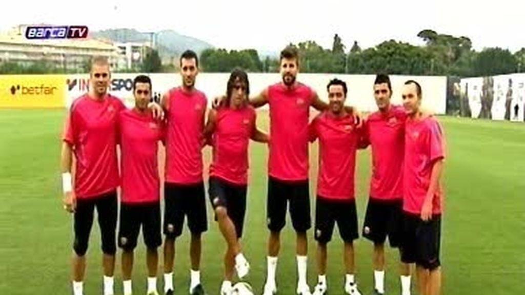 El once ideal del Barcelona